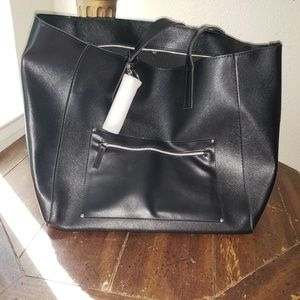 *NWT* Large Black Tote